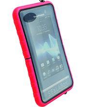Krusell pouzdro vodotěsné SEaLABox L - univerzální do rozm. 116x59x15mm (červená)