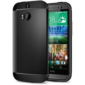 Spigen pevné pouzdro Slim Armor Black pro HTC One M8, černá