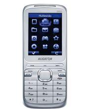 Aligator D900 Dual Sim + Voucher Mobil Edit zdarma - stříbrná