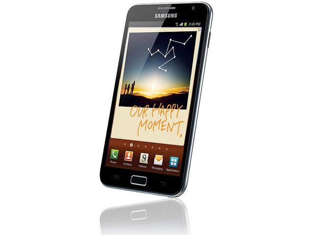 obsah balení Samsung Galaxy Note + Bezdrátový monitor srdečního tepu Nokia Polar