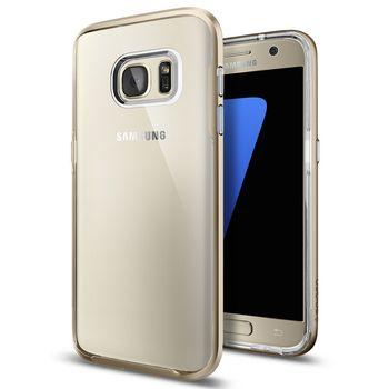 Spigen pouzdro Neo Hybrid Crystal pro Galaxy S7, zlaté