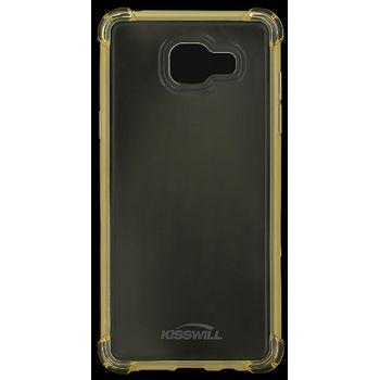 Kisswill Shock TPU pouzdro pro Samsung J510 Galaxy J5 2016, zlatá