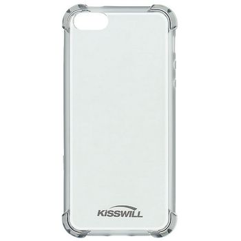 Kisswill Shock TPU pouzdro pro iPhone 5/5S/SE, šedá