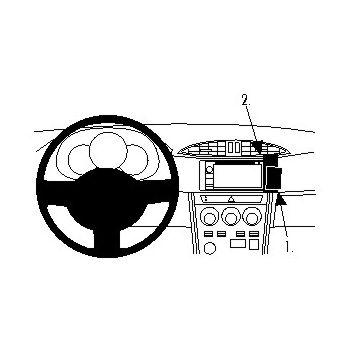 Brodit ProClip montážní konzole pro Subaru BRZ 12-16/Scion FR-S 12-14, na střed