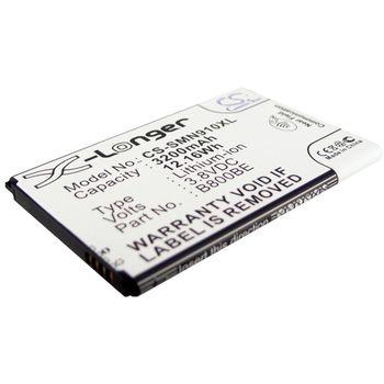 Baterie pro Samsung Galaxy Note 3, 3200mAh li-ion + univerzální nabíječka baterií