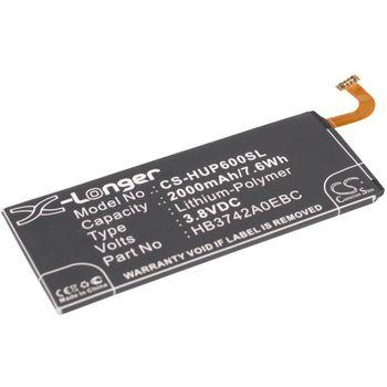 Baterie pro Huawei Ascend P6 2000mAh Li-ion
