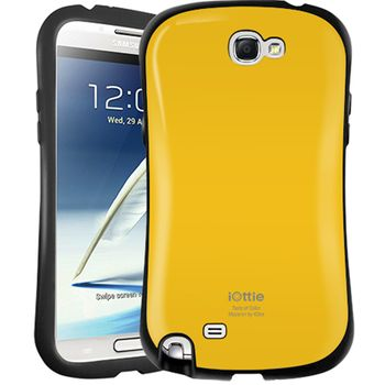 iOttie Macaron - ochranné pouzdro pro Samsung Galaxy Note II žluté