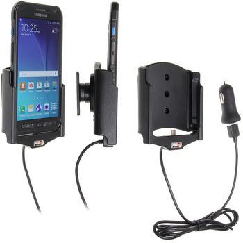 Brodit držák do auta na Samsung Galaxy S6 Active bez pouzdra, s nabíjením z cig. zapalovače/USB