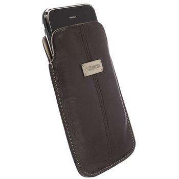 Krusell pouzdro Luna - L - HTC Desire Z (černá)