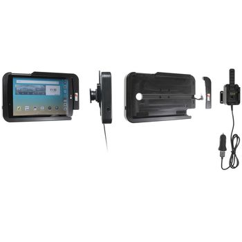 Brodit odolný držák do auta na LG G Pad F 8.0 bez pouzdra, s nabíjením z CL/USB