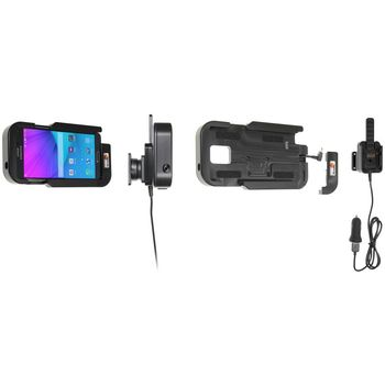 Brodit odolný držák do auta na Samsung Galaxy Note 4 bez pouzdra, s nabíjením z CL/USB