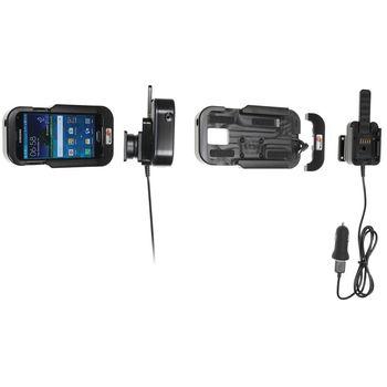 Brodit odolný držák do auta na Samsung Galaxy S5 bez pouzdra, s nabíjením z CL/USB