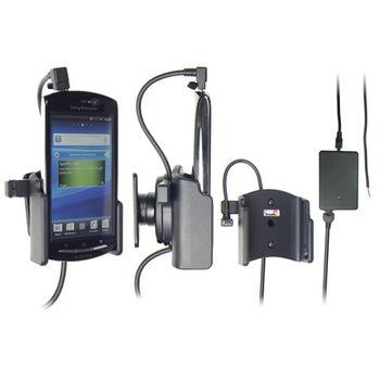 Brodit držák do auta pro Sony Ericsson Xperia neo/neo V se skrytým nabíjením v palubní desce