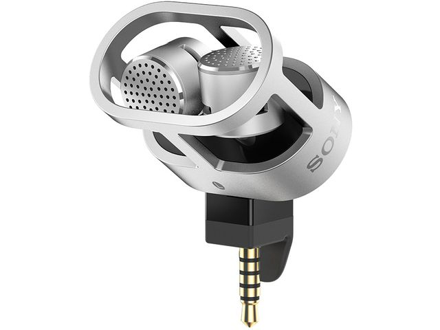 obsah balení Sony STM10 stereo mikrofon pro Sony Xperia Z2 / Tablet Z2 + PanzerGlass sklo pro Sony Xperia Z2
