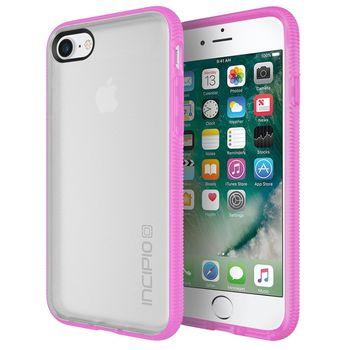 Incipio ochranný kryt Octane Case pro Apple iPhone 7, sněhově bílá/růžová
