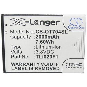 Baterie pro Alcatel ONE TOUCH POP C7, 7040D, 2000mAh Li-ion
