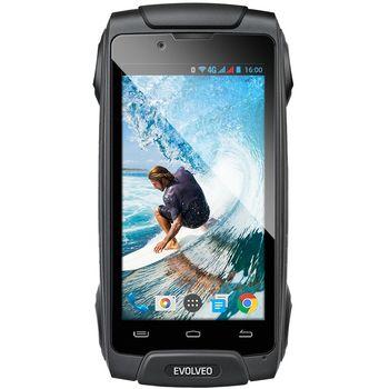 EVOLVEO StrongPhone Q8 LTE, černý