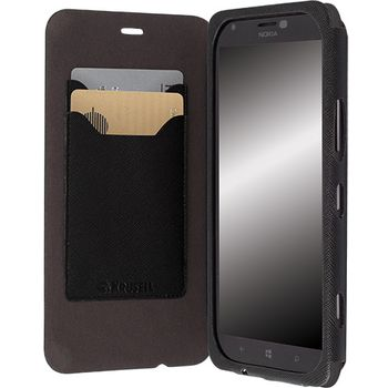 Krusell pouzdro FlipCover Malmö - Nokia Lumia 1320, černá