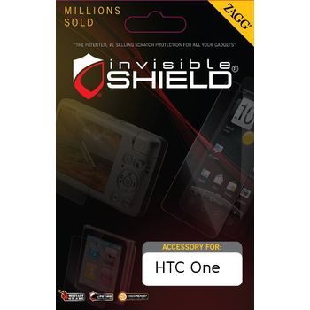 invisibleSHIELD HD pro HTC One - display