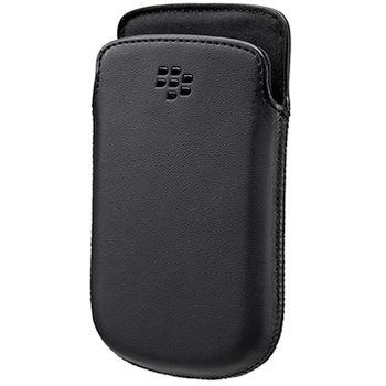 BlackBerry kožené pouzdro pro BlackBerry 9720, černé