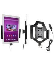 Brodit držák do auta na Sony Xperia Z4 Tablet bez pouzdra, s nabíjením z cig. zapalovače/USB