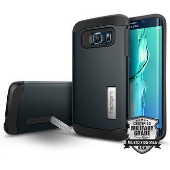 Spigen pouzdro Slim Armor pro Samsung GALAXY S6 edge+, břidlicové
