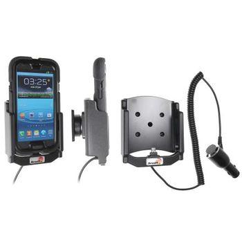 Brodit držák do auta na Samsung Galaxy S III i9300 v pouzd. Griffin Survivor s nabíjením z cig. zap.