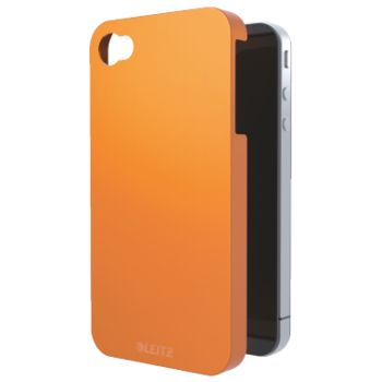 Kryt Leitz Complete WOW pro iPhone 4/4S oranžový