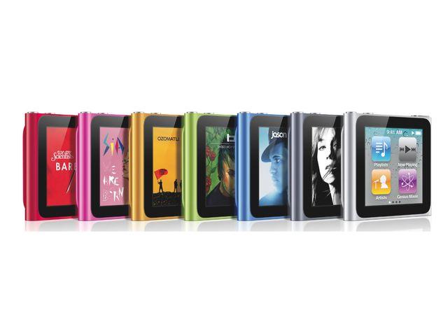 obsah balení Apple iPod Nano 6th - 16GB (stříbrná) + reproduktor přenosný Soundtraveller K3000ST