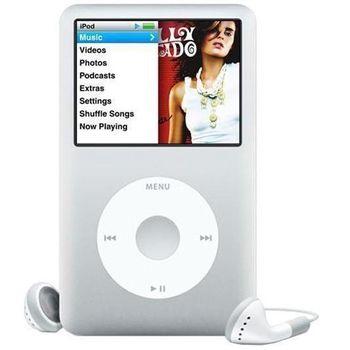 Apple iPod classic 160GB Silver + reproduktor přenosný Soundtraveller K3000ST