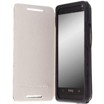 Krusell pouzdro FlipCover Kiruna - HTC ONE (černá)
