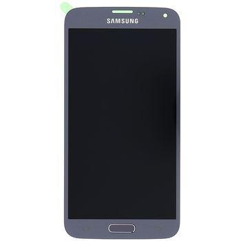 LCD display + Dotyk Samsung G903 Galaxy S5 Neo stříbrný