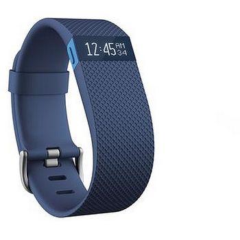 Fitbit Charge HR (s měřením tepu), velikost L, modrý