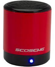Scosche bluetooth reproduktor boomCan BT, červený