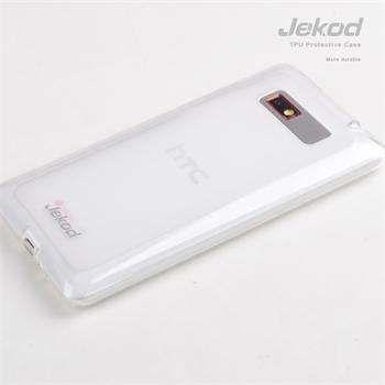 Jekod TPU silikonový kryt HTC Desire 600, bílá
