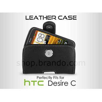 Pouzdro kožené Brando Pouch - HTC Desire C