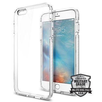 Spigen pouzdro Ultra Hybrid TECH pro iPhone 6/6s, bílé