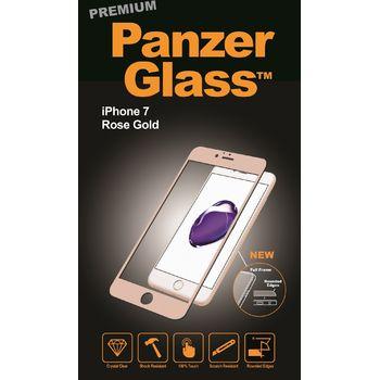 PanzerGlass ochranné premium sklo pro Apple iPhone 7, růžová