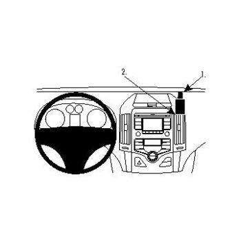 Brodit ProClip montážní konzole pro Hyundai i30 08-09