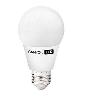Canyon LED žárovka, (ekv. 40W) E27, kompakt kulatá, mléčná 6W, 470 lm,neutrální bílá 4000K