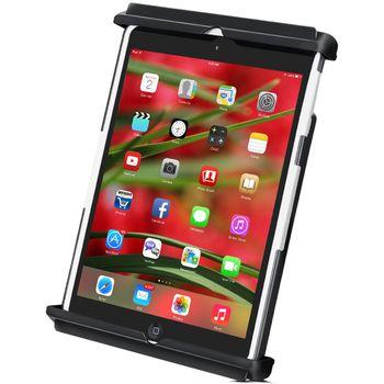 RAM Mounts univerzální držák na iPad mini Retina bez i v pouzdru do auta s extra silnou přísavkou na sklo, čelisťový, sestava RAM-B-166-TAB12U