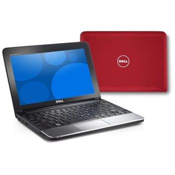 "Dell Inspiron Mini 10""/Atom N270/1GB/160GB/WiFi/CAM/BT/WSVGA/Ubuntu/červený"