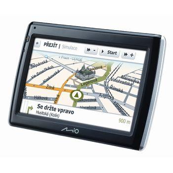 "MIO Moov (Spirit) S555u GPS navigace, LCD 4,7"", TMC, BT,Multimedia, 3D mapy EU (43)"