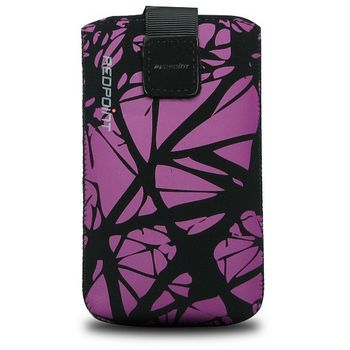 Redpoint pouzdro Velvet s motivem Purple Cracks, velikost 3XL, fialová