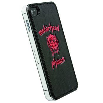 Motörhead hard case - Metropolis UnderCover - Apple iPhone 4/4S (černá/červená)