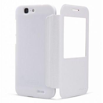 Nillkin Sparkle S-View Pouzdro pro Huawei Ascend G7, bílý