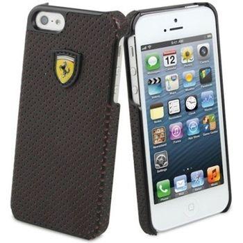 Ferrari Challenge zadní kožený kryt pro iPhone 5