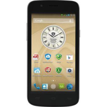PRESTIGIO MultiPhone 5504 Duo, stříbrná