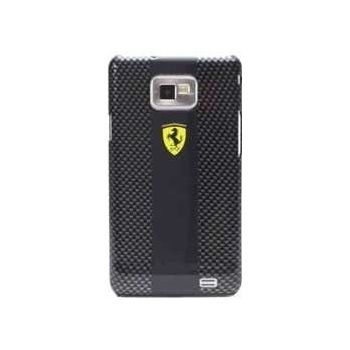 Ferrari Carbon zadní kryt i9100 Galaxy S II, černý
