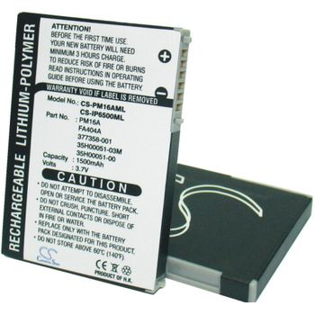 Baterie (ekv. PM16A) pro MDA Compact, Dopod 818, pro, Li-pol 3,7V 1500mAh